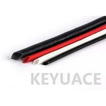 Silicone Coated Fiberglass Heat Resistant Braid Sleeves