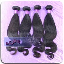 Cheap Half Body Wave Virgin Funmi Human Hair Weave for Salon