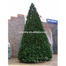 11m gigante centro comercial pvc árbol de Navidad