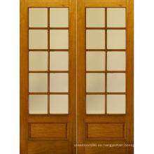 Caoba Exterior China Puertas de madera maciza