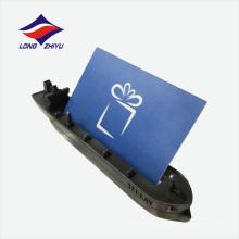 Titular de tarjeta de nombre de metal de escritorio de venta directa de fábrica