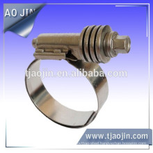 Ship manufacturing hose clamp,Hose clamp with elastic cushion