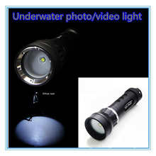 For GoPro 120 Degree Wide Angle Diving Torch Led
