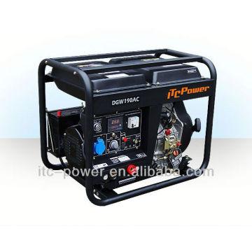 2 kW soldador ITC-POWER generador de soldadura diesel 0-190A