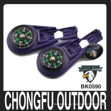 Chongfu de color púrpura profundo plástico líquido llenado bloqueo zip clips manufactory