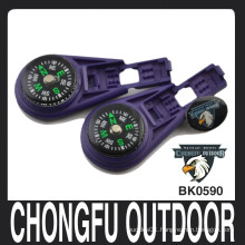 chongfu deep purple plastic Liquid Filled locking zip clips manufactory