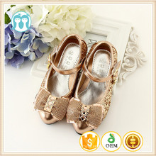 newest design kids golden color shoes 2016 spring autumn sandals children silver color shoes