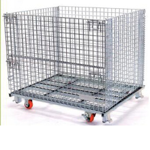 Heavy Duty Forklift Collapsible Storage Cage
