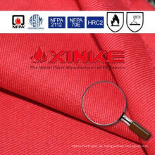 7oz 88% Baumwolle 12% Nylon schwer entflammbaren Stoff für insgesamt