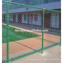 Гальванизированный звено цепи сетки плетения / звена цепи сетка заборная с высоким качеством