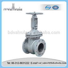 Gost a105 aço carbono válvula de porta pn16