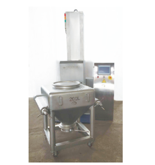 Pharmaceutical Foodstuff Chemical Indusry Post Bin Blender