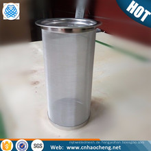 Papierloses kaltes Gebräu-Kaffeefilter-Rohrsieb für Kaffeemaschine mit Weckglas