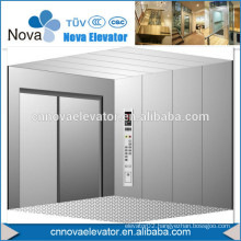 1000kgs Hospital Elevator 304 Stainless Steel Cabin with Marbel Floor