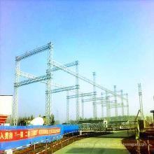 500 Kv Estructura de la subestación de transmisión de energía de acero