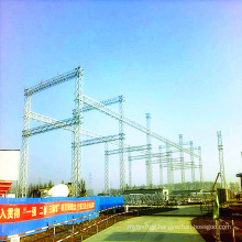 500 Kv Angle Steel Power Transmission Substation Structure