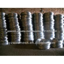 Fábrica de alambre de hierro galvanizado de alta calidad
