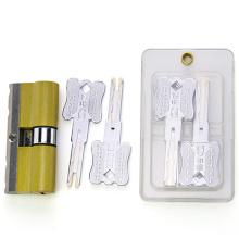 Cilindro de cerradura de mortaja de latón C-Level con cilindro de perforación y resistente a los golpes