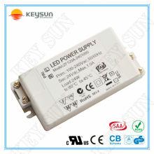 Alimentation de l'adaptateur secteur 24V LED pilote 24W pour T5 T8 T10 tubes LED
