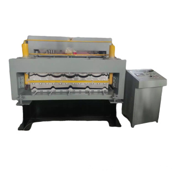Trapezoidal Steel Sheet Making Machine for roofing
