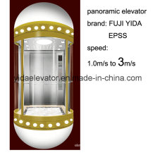 Ascensor Panorámico con Cabina de Cristal para Excursiones