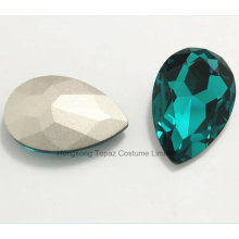 China Wholesale Rhinestone Pointed Back Manufacturer Glass Beads Glass Crystal (TP-Drop 13*18)