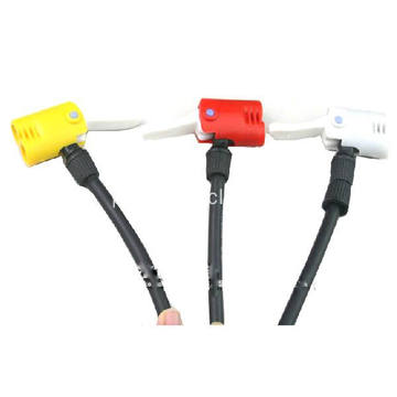 Red Pump Nozzle for Mini Bike Pump