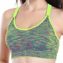 Top Athletic Vest Gym Fitness Sports Logotipo personalizado de alta calidad Hot Sex mujeres sujetador, yoga sport bra