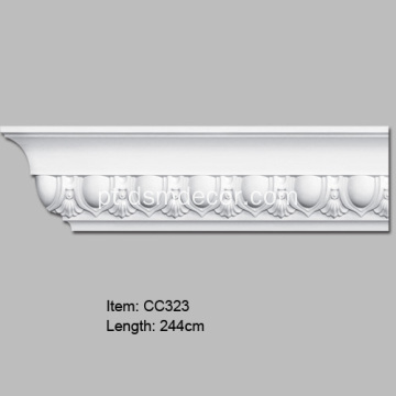 Novo Cornice Molding for Home Decoration