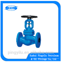 API/DIN carbon steel bellows globe valve