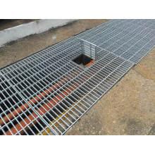 Grille d'acier galvanisé de calibre pour revêtement de sol