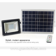 High Power Aluminum Outdoor Solar Led Flood Light