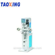 Impressora cosmética da almofada de Taoxing com o auto líquido de limpeza da almofada