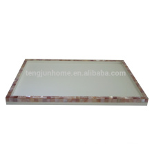Suministros de Hotel Pink Shell Tray