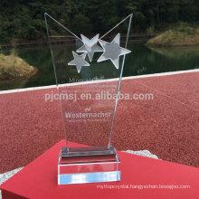 Hot sale best quality custom crystal award trophy