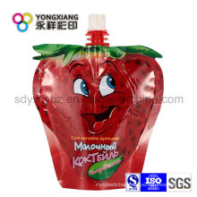 Stand up Spout Bag for Fruit Juice/Daily Washing Liquid/Milk