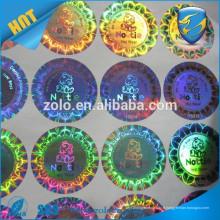 Garantie de l'électronique grand public fabricant d'étiquettes vide étiquette holographique anti tamper