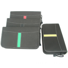 Artificial leather CD bag