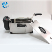 Wholesale OEM 3L mini family high quality Non-Stick Stainless Steel Deep Fat Fryer