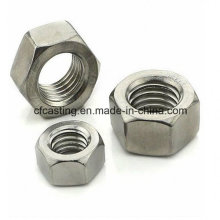 Precision Machined Stainless Steel Screw Nut