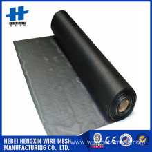 Factory 18x16 PVC Plastic Coated Fire Resistant Fiberglass Window Screen