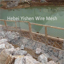 Rivers and Dam Scour Protection With Gabion Mesh