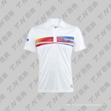 2015 Custom Sublimation impressão Tennis Jersey