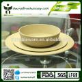 eco bamboo camping bowl sets