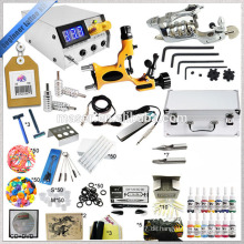 Professionelle digitale Stromversorgung Tattoo Maschine Kit billige Tattoo Kits kostenlose Tattoo Tinte