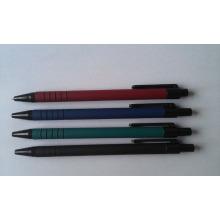 2016 пластиковая шариковая ручка с резиновой отделкой баррель