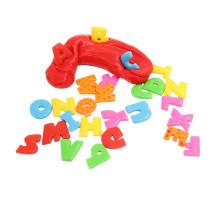 Brinquedos educativos engraçados com Putty de pensamento e 26 alfabeto sensorial (MQ-SDP06)