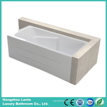 Simple Design Soaking Bathtub with Skirt (LT-19Q)