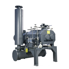 Bomba de vacío de agua de circulación industrial de tornillo sin aceite