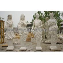 Escultura de piedra tallada con granito de piedra caliza de arenisca de mármol (SY-X1035)